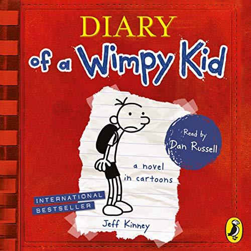 Couverture de Diary of a Wimpy Kid