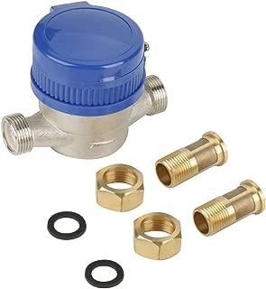 Intensification filettatura esterna da 3//4a 1//2 Nipplo esagonale Riduttore maschio per tubo dellacqua Set di adattatori rapidi Raccordo per tubo in ottone