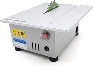 24V 100W Portable Small electric Table Saw Blade DIY Woodworking Cutting Machine