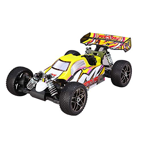 TMIL 1/8 Buggy Nitro, 4WD Gasolina del Coche De RC, De Alta Velocidad De Combustible Modelo De Coche De Carreras De Coche De Control Remoto, 50 * 30 * 19.5Cm, Velocidad Máxima: 70 Km/H