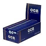 OCB Papel de liar Ultimate Regular ultrafino 50 hojas/librillos 2...
