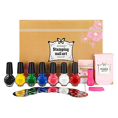 KONAD® Nailart Stamping Set