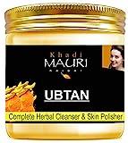 Khadi Mauri Herbal Ubtan Face Pack - Skin Lightening & Tan Removal