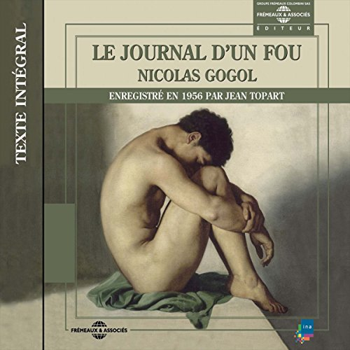Le journal d'un fou audiobook cover art