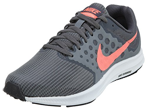 Nike Downshifter 7, Women's Running, Grey (Cool Grey/Dark Grey/Lava Glow/White), 3.5 UK (36.5 EU)