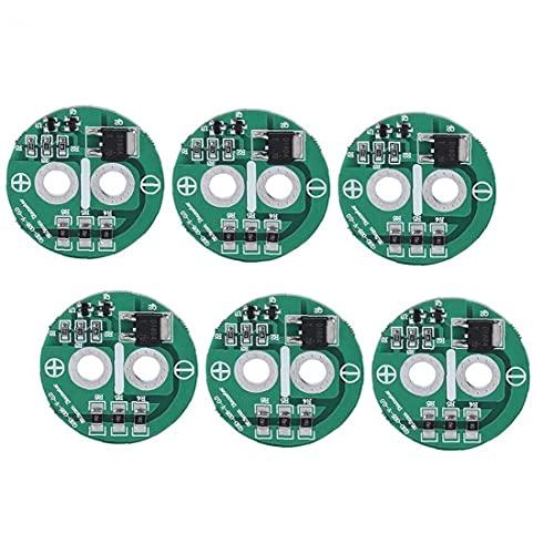 Tablero de protección del Condensador 2.5V disipación de Calor Limitación de Voltaje Tablero de Equilibrio 6pcs Herramientas prácticas para el hogar
