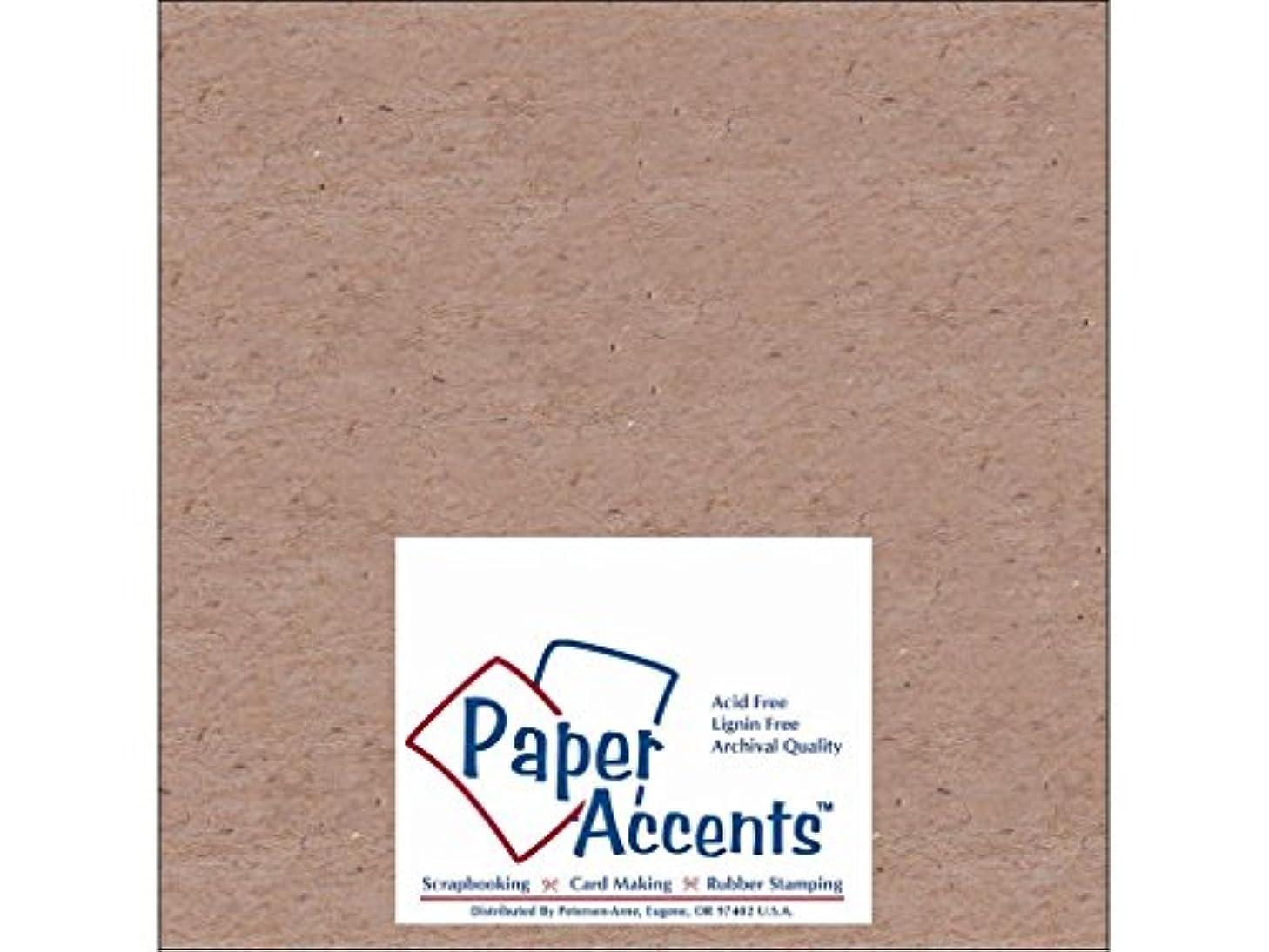 Accent Design Paper Accents 52 NAT Chipboard 8x8 1X Heavy 52pt Natural