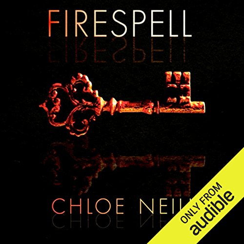Firespell audiobook cover art