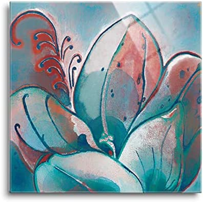 SOULFINE Discount mail order Glass Wall Art H Frameless for Max 60% OFF Tempered