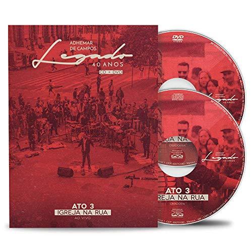 BOX DVD-CD Legado40 Ato 3- Igreja na Rua - Adhemar de Campos