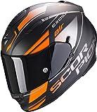 Scorpion - Casco Exo-510 Air Ferrum Matt Black-Orange-Silver XXL XXL MATT BLACK-ORANGE-SILVER