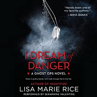 I Dream of Danger audiobook cover art