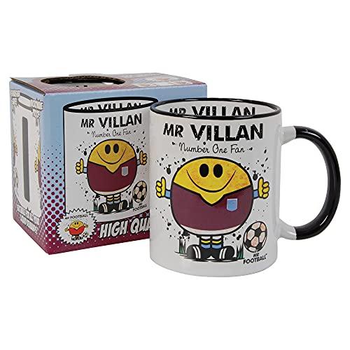 Mr Villan Mug - Ideal for The Football Man Aston Villa Fan