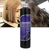 Crema de tinte para el cabello, cera de tinte para el cabello de estilo profesional de moda, crema de coloración para el cabello pasta para encerar el cabello 228 ml(Color de lino)
