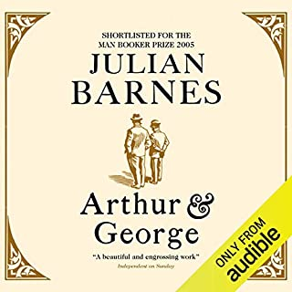 Arthur and George audiobook cover art