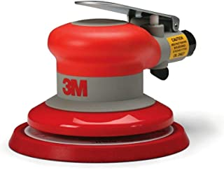 3M Random Orbital Sander � Pneumatic Palm Sander � 5� x 3/16� Diam. Orbit � Stikit Disc Pad � For Wood, Composites, Metal � Original Series, 20317