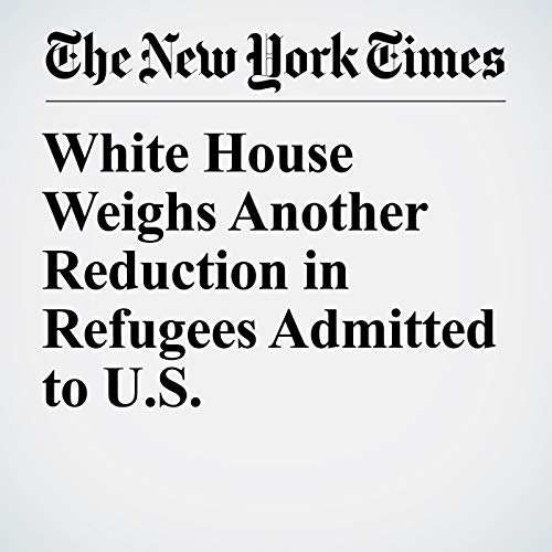 White House Weighs Another Reduction in Refugees Admitted to U.S. copertina