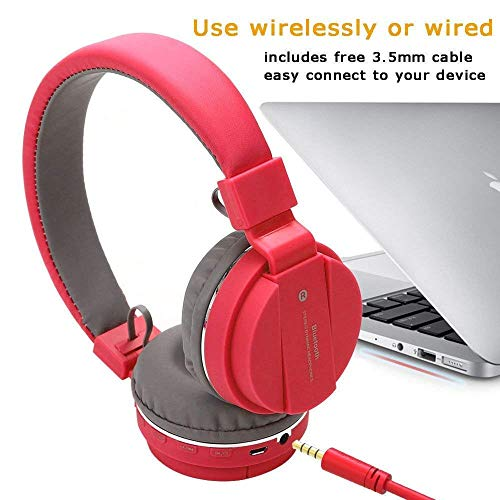 SH12 Sports Wireless Bluetooth Over the Ear Headphone with Mic (Multicolour)