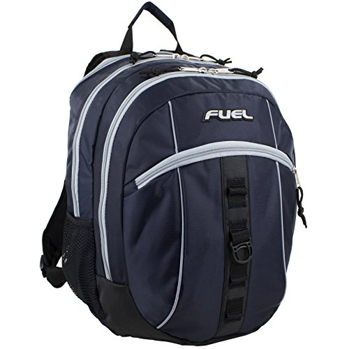 Fuel Sport Active Multi-Functional Ergonomic Backpack with Tech Compartment (Navy)