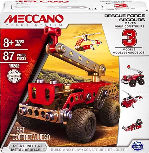 Meccano Multimodels, Rescue Squad 3 Model Set