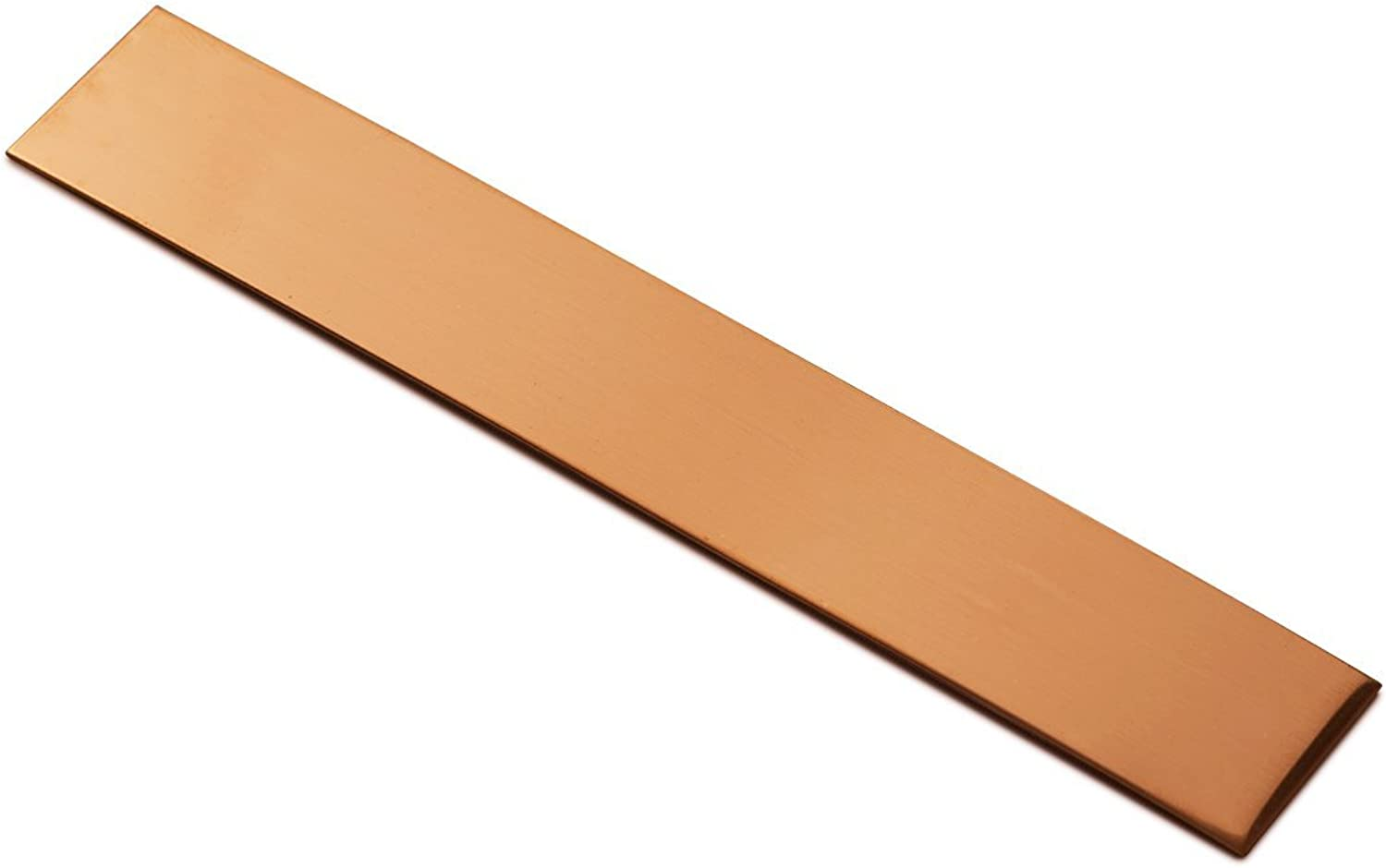 RMP Copper Bracelet Blanks  1 Width X 6 Length X .021 Thickness  10 Pack