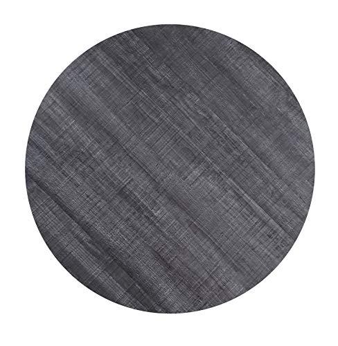 Werzalit Tischplatte Dekor Palisade grau 80 cm rund wetterfest Ersatztischplatte Gastro