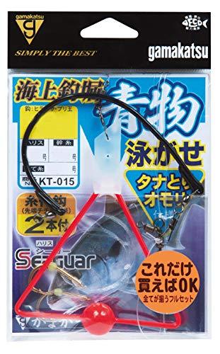 がまかつ(Gamakatsu) 海上釣堀 青物泳がせ仕掛 タナ取りオモリ仕様 KT015 11-6