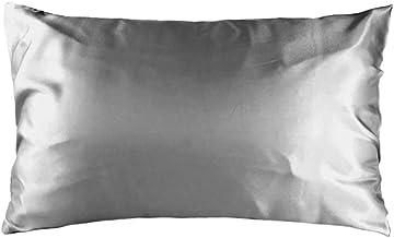 Bambury Satin Pillowcase, Silver