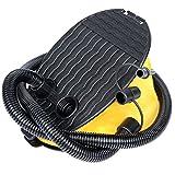 LIOOBO Balg Fußpumpe Inflator Fußluftpumpe für Camping Ballon Schlafen Luftbett