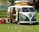 VW Bulli 2020: Großer Wandkalender. Foto-Kunstkalender über den Oldtimer Bus. Querformat 55 x 45,5 cm. Edles Foliendeckblatt. - Korsch Verlag
