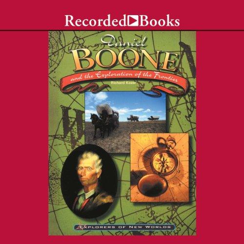 Daniel Boone audiobook cover art