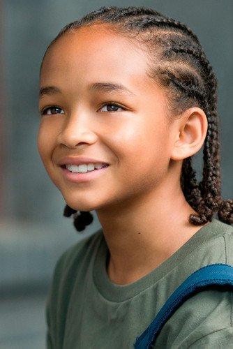 Póster de The Karate Kid Jaden Smith con imagen sonriente de 60 x 90 cm