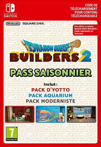 Dragon Quest Builders 2 : Pass Saisonnier   Switch - Version digitale/code