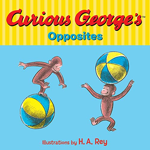 Curious George's Opposites (English Edition)