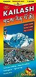 Kailash Trekking and Panoramic Map: Trekking Map Kailash 1:50000, Darchen 1:4000, Tibet 1:12 Mill. Bilingual Map: Tibetisch-Römisch. Legende: Engl., Dt., Ital., Franz., Tibet., Japan