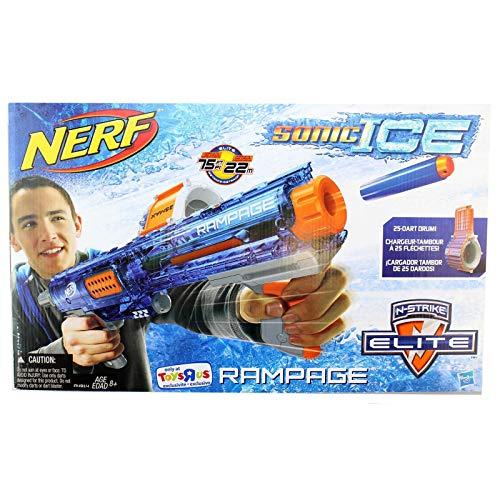 NERF NStrike Elite Rampage Sonic Ice Series Blaster by Hasbro