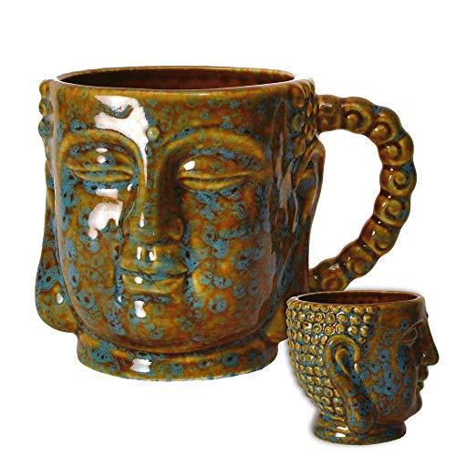 Buddha Kopf Kaffeebecher - Buddha-Kopf Kaffeetasse