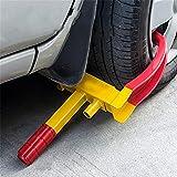 Blackpoolal Universal Heavy Duty Car Tyre Lock Caravan Security Locking Wheel Clamp Anti Theft Trailer Auto Tyre Lock