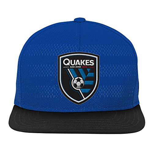 Outerstuff Unisex-Kinder MLS Jugend Boys Authentic Flatbrim Snapback, Teamfarbe, Einheitsgröße