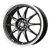 16x7 Enkei J10 (Matte Black w/ Machined Lip) Wheels/Rims 5x100/114.3 (409-670-12BK)