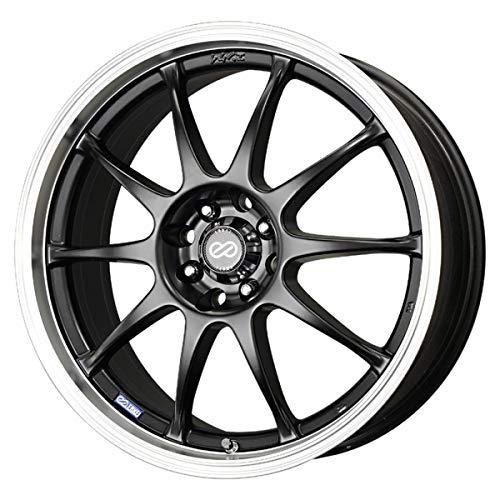Enkei 409-875-10BK 18' J10 Wheel Rim - Black 18x7.5 4x100 4x114.3 +42