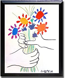 picasso flower of hands