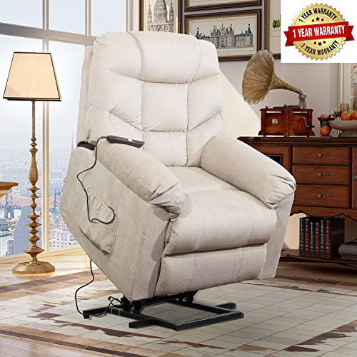 Lift Chairs for Elderly - Lift Chairs Recliners Sofa Lift Chairs Electric Recliner Chairs with Remote Control Soft Fabric Lounge