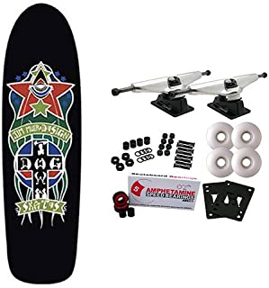 Dogtown Skateboard Complete Red Dog Triplane Black 8.87