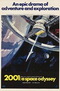 2001: A Space Odyssey Poster Movie I 11x17 Keir Dullea Gary Lockwood William Sylvester Dan Richter Unframed Blue 339299