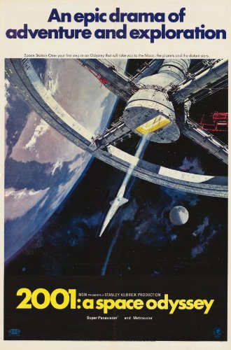 Movie Posters 11 x 17 2001: A Space Odyssey