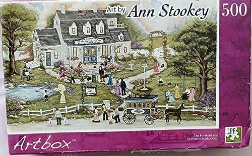 Ann Stookey 500 Piece Puzzle  The Blaubird Inn by LPF