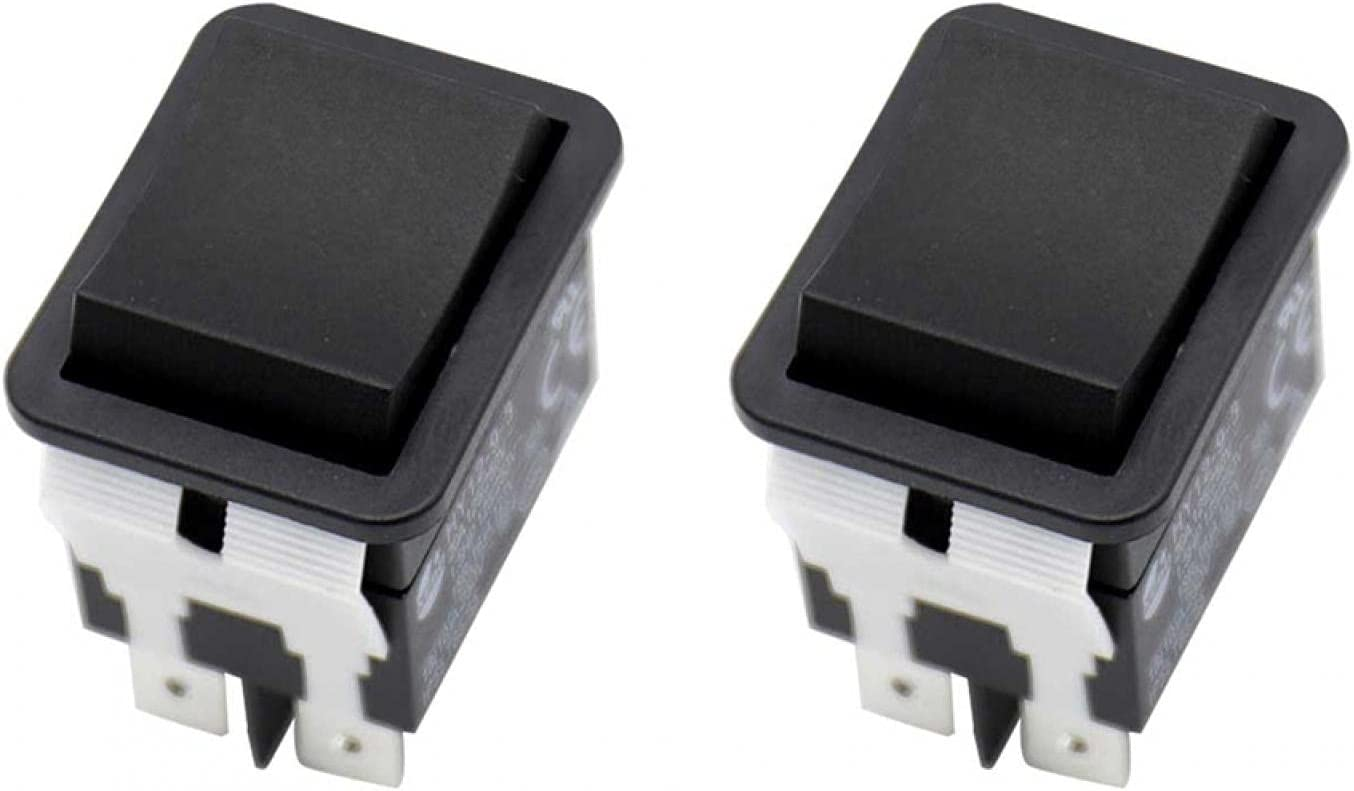 Sale special Louisville-Jefferson County Mall price Rocker Push Arc Switch Off Button Switches ON