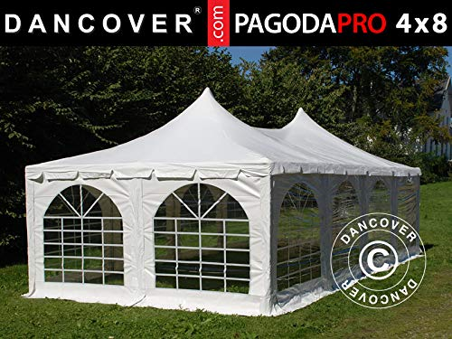 Dancover Partytent Pagoda PRO 4x8m, PVC