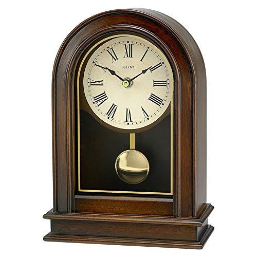 Bulova b7467Hardwick Reloj, Acabado de Madera de Nogal